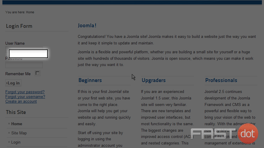 user submit article joomla